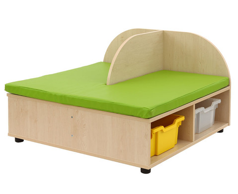 Maddox Sitzbankkombination 2 gruene Sitzmatten