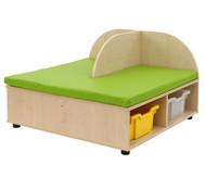 Maddox Sitzbankkombination 2, grüne Sitzmatten