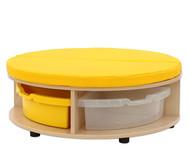 Maddox Sitzkombination 1, gelbe Sitzmatten