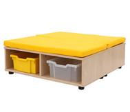 Maddox Sitzkombination 11, gelbe Sitzmatten