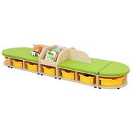 Maddox Sitzkombination 5, grüne Sitzmatten