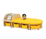 Maddox Sitzkombination 6, gelbe Sitzmatten