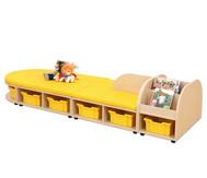 Maddox Sitzkombination 8, Sitzmatten gelb