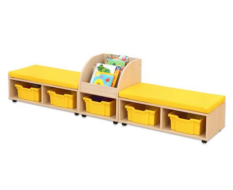 Maddox Sitzkombination 9 gelbe Sitzmatten-1