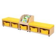 Maddox Sitzkombination 9, gelbe Sitzmatten