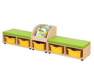 Maddox Sitzkombination 9, grüne Sitzmatten