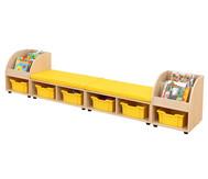 Maddox Sitzkombination 10, gelben Sitzmatten
