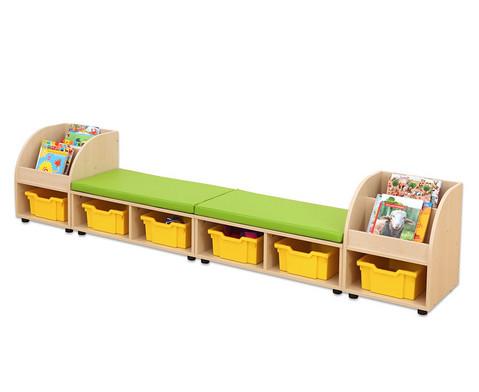 Maddox Sitzkombination 10 mit gruenen Sitzmatten