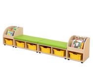 Maddox Sitzkombination 10 mit grünen Sitzmatten
