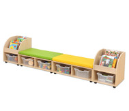 Maddox Sitzkombination 10, Sitzmatten gelb/grün