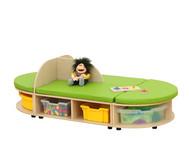 Maddox Sitzkombination 7, grüne Sitzmatten
