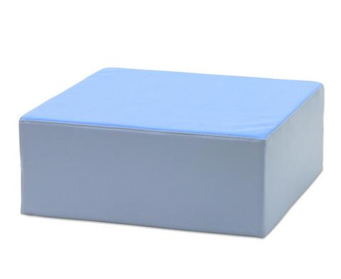 Betzold Schaumpodest in 3 Hoehen blau oder gruen