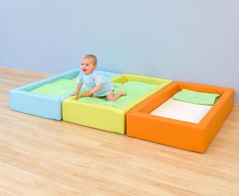 Krippen-Schaum-Bett mit Matratze-2