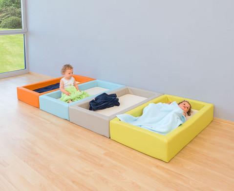 Krippen-Schaum-Bett mit Matratze-3