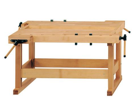 Werkbaenke mit Holzgestell-1