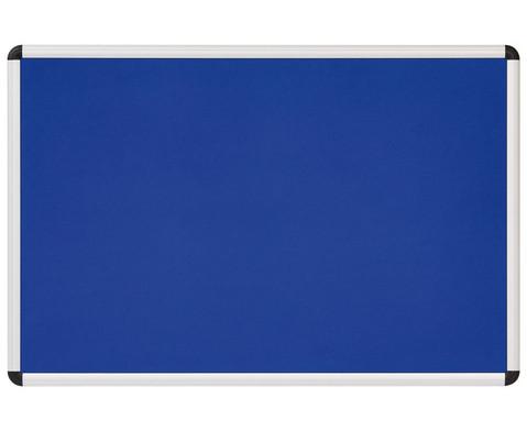 Betzold Textiltafel blau mit Alurahmen