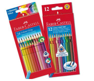 Faber-Castell Colour Grip Holzstifte, dünn