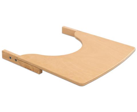 Tisch fuer Treppenhochstuhl