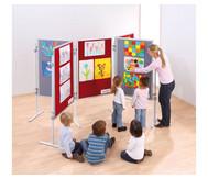 Compra Kinder-Stellwandtafel mit Stoffoberfläche