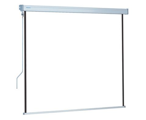 Handkurbel Roll-Leinwand Compact