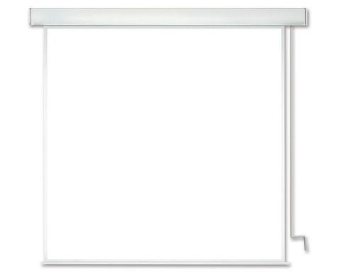 Handkurbel Roll-Leinwand MEDIUM Rollfix Premium Kurbel Pro