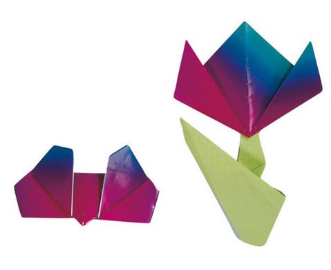 Faltblaetter Regenbogen-Papier 110 g-m2-2