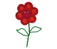 Filz-Blumen , 20 Stück