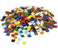 Bunte Mosaik-Glassteine, 1 kg