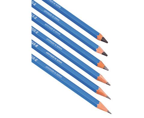 12 Bleistifte Staerke 8B-1