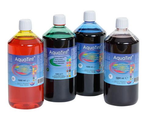AquaTint - Hochpigmentierte fluessige Wasserfarbe