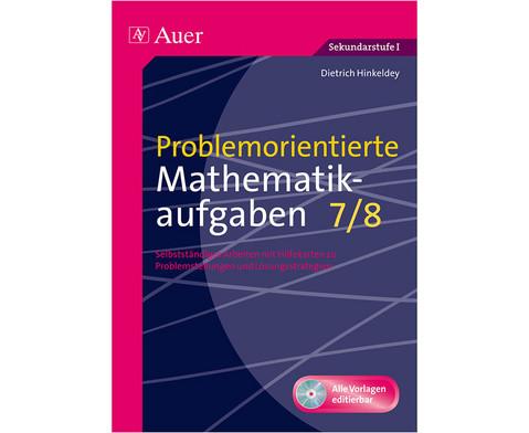 Problemorientierte Mathematikaufgaben mit CD-ROM