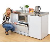 Miniküche Classic Merida mit Elektrokochfeld