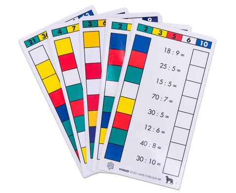 Cube Control Einmaleins - Aufgabenkarten