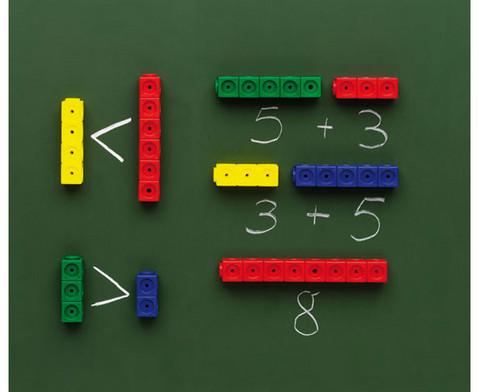 DICK-System Riesensteckwuerfel magnetisch einfarbig 20 Stueck