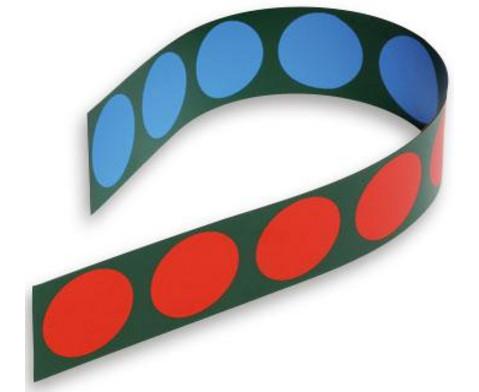 Doppelseitig magnetische Zehner-Wendestreifen