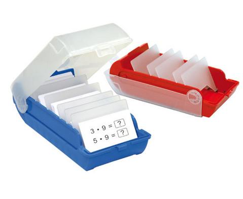 Lernkartei-Kasten und Lernkarten-1