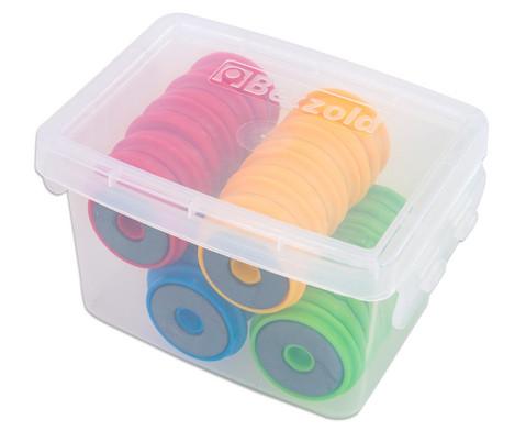Greifmagnete in Kunststoffbox 40 Stueck
