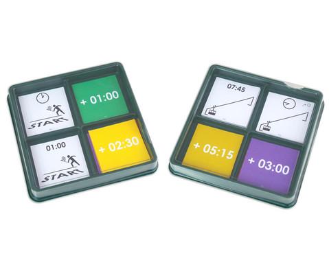 Lernbox Zeit Start und Ziel