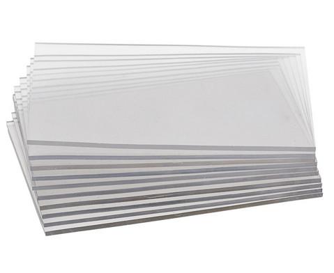 Transparentplatten zum Drucken 10 Stueck