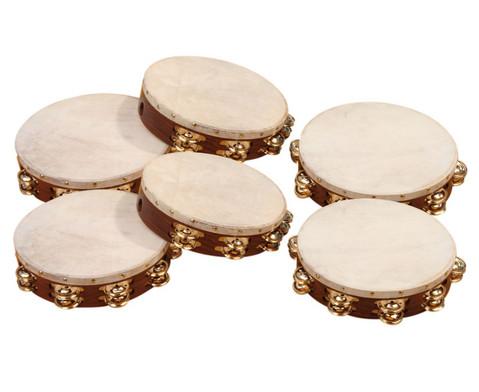 Betzold Musik Tamburine mit oder ohne Schellen-1