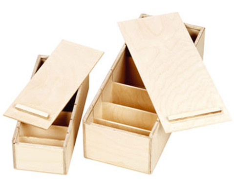 Lernbox aus Holz