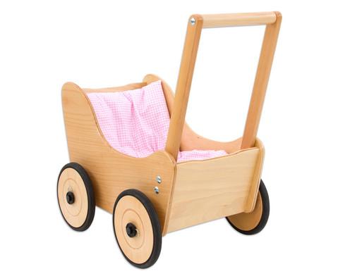 Puppenwagen inkl Bettwaesche-1