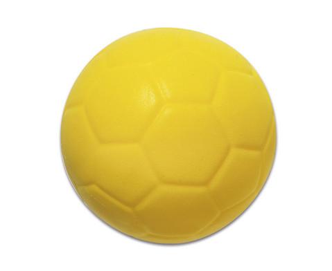 Schaumstoff-Fussball gelb