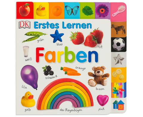 Buch Erstes Lernen - Farben