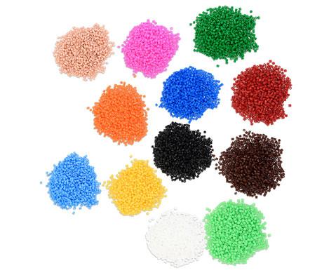 Midi-Buegelperlen in verschiedene Farben 1100 Stueck