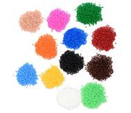 Mini-Bügelperlen, in verschiedene Farben 1100 Stück