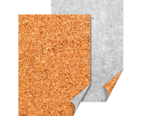 Motivkarton Beton- Kork 10 Bogen-2