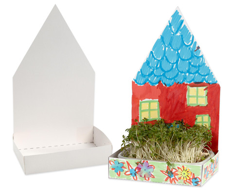 Haus mit Schale 6er-Set