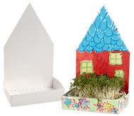 Haus mit Schale, 6er-Set