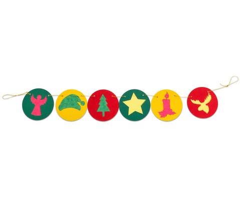 Girlande Weihnachten 6 Stueck-3